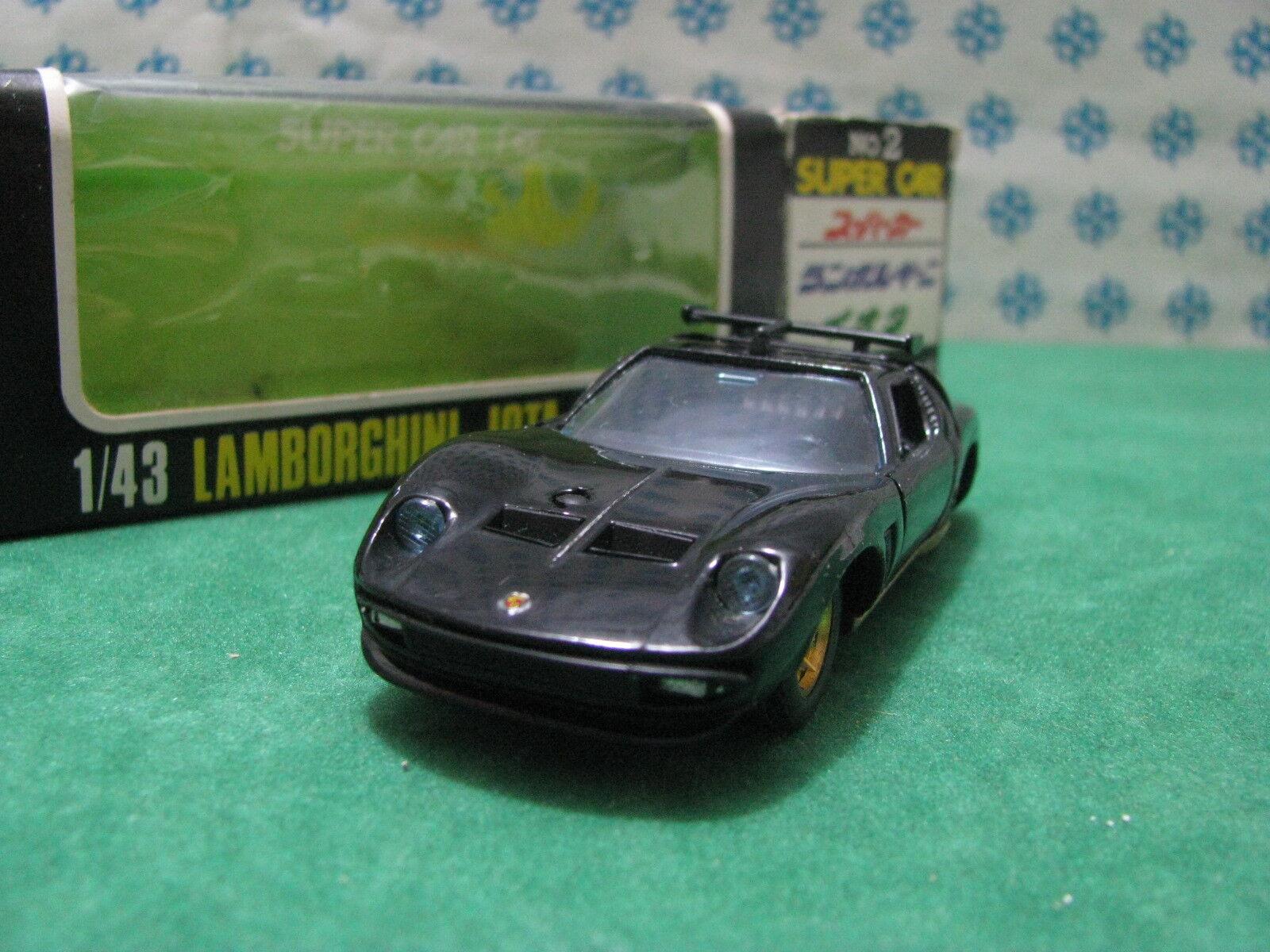 RARE Vintage - LAMBORGHINI JOTA - 1 43 Taito-Ku n 65533;oss 6553302 Superbil