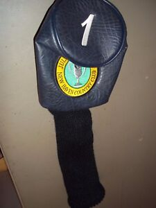 PRISTINE NEW HAVEN COUNTRY CLUB GOLF HEAD COVER DRIVER 1