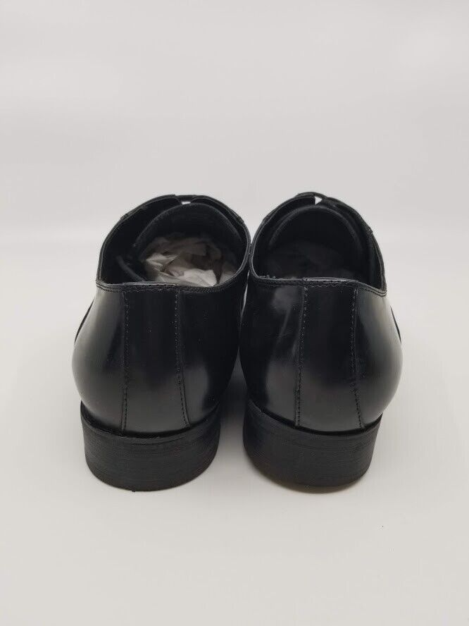 KENNETH COLE Reaction Mens Shoes - Star Quality Black Leather Oxfords Size 10.5