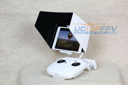 10/'/' iPad Sun Hood Shade White w// Mount for DJI Phantom All Models and Inspire