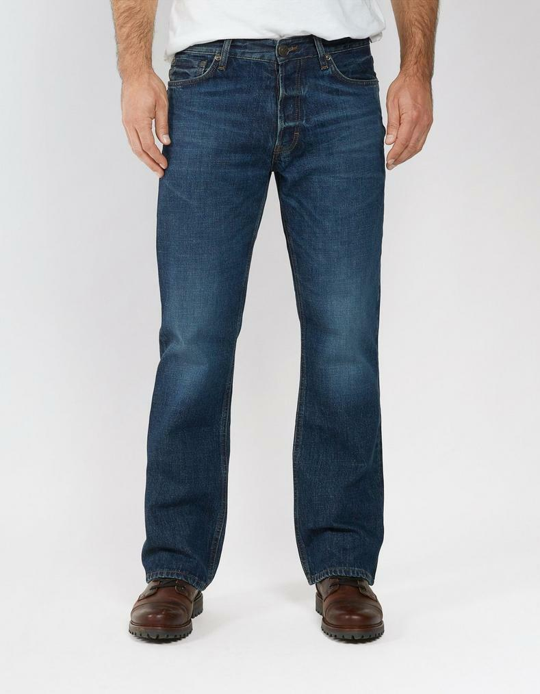 Fat Face Bootcut Mid Wash Jeans - Denim - R - RRP .00