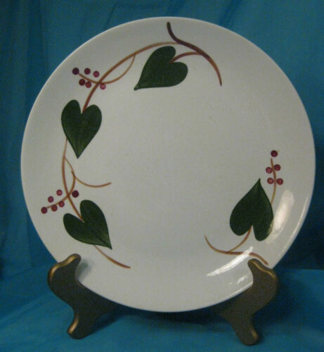 Vintage BLUE RIDGE Southern Potteries STANHOME IVY Plate
