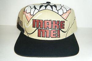 Image is loading Taz-snapback-vintage-authentic-snapback-hat-Very-RARE- 050c2402e