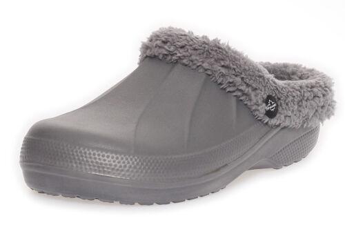 Damen Mädchen Clogs Pantoletten Winter Hausschuhe Slipper Pantoffeln BF 00292