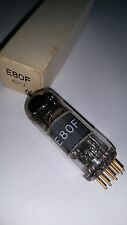 E80F Philips NOS goldpins  tested good on Funke W19s  Röhren / tubes Nr.A18