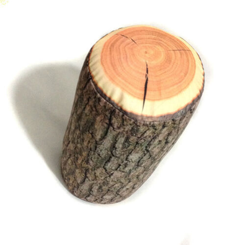 Baumstumpf Holz Textur Wurfkissen im Auto dekorieren #E0Y Holz Log Kissen