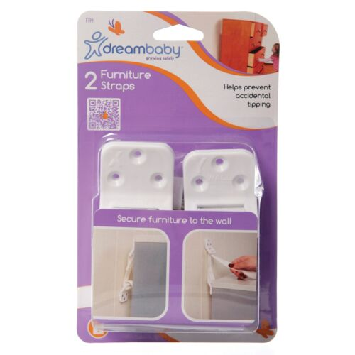 Dreambaby Furniture Wall Straps 2 Pack