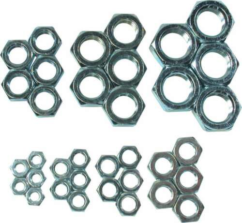 AllStar Professional RH Jam Nut Assortment Steel