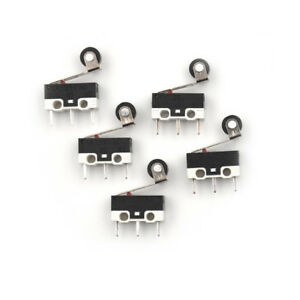 5-x-Ultra-Mini-Micro-Switch-Roller-Lever-Actuator-Microswitch-SPDT-Sub-QZ