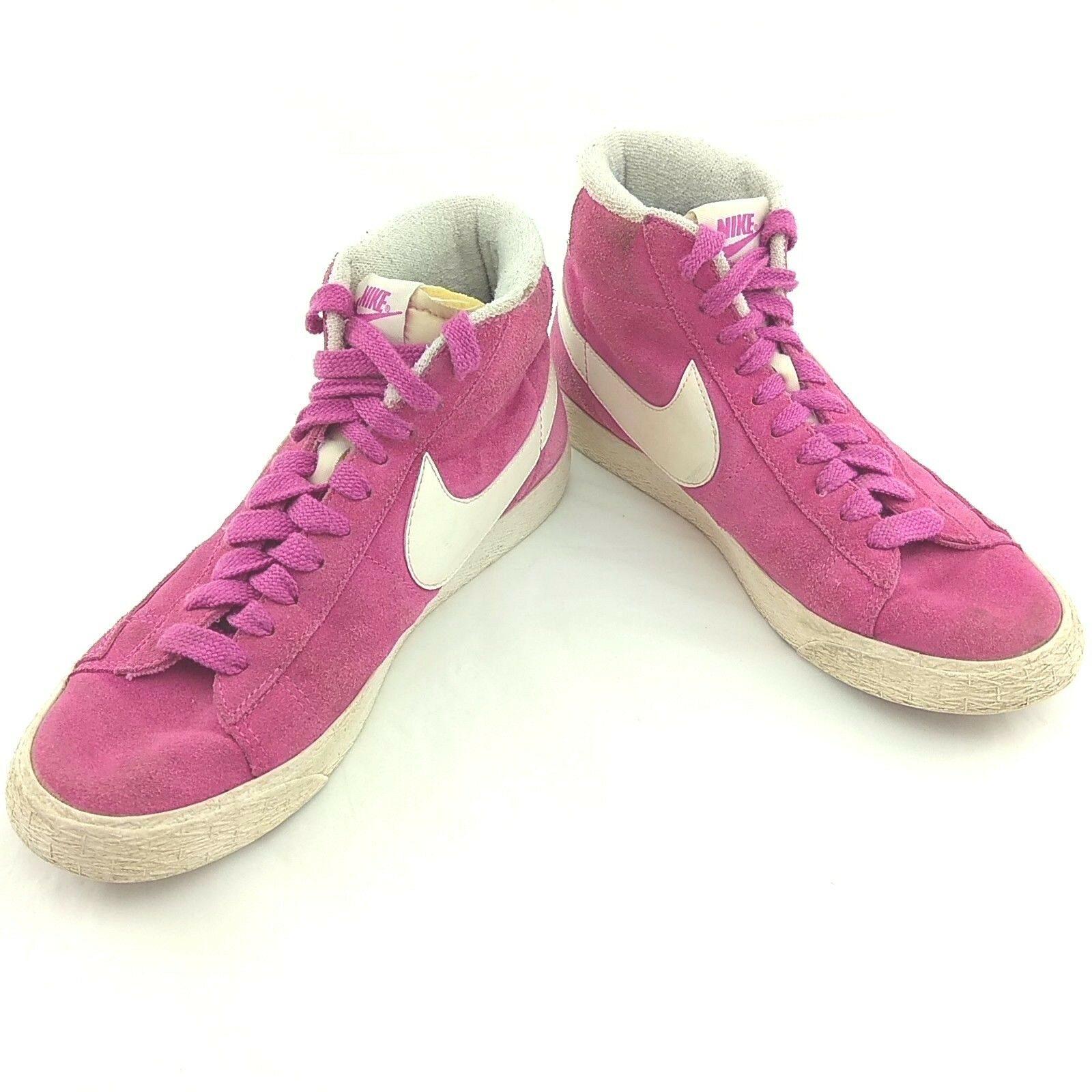 NIKE BLAZER WOMENS HIGH TRAINERS SIZE PINK 518171-604