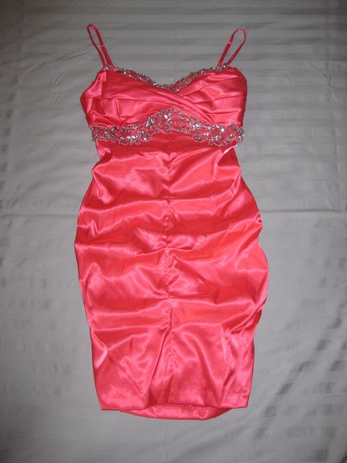 B. Darlin Pink Dress size Small New