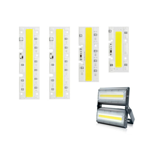 AC 220V 110V High Power Light Lamp COB LED Chip Beads Smart IC Driver Integrated