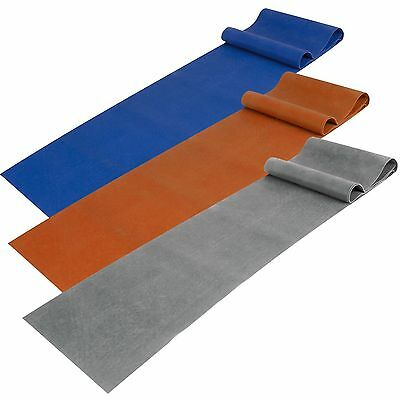 Fitnessband Stretchband Gymnastikband Latexband 3er-Pack leicht, mittel & stark