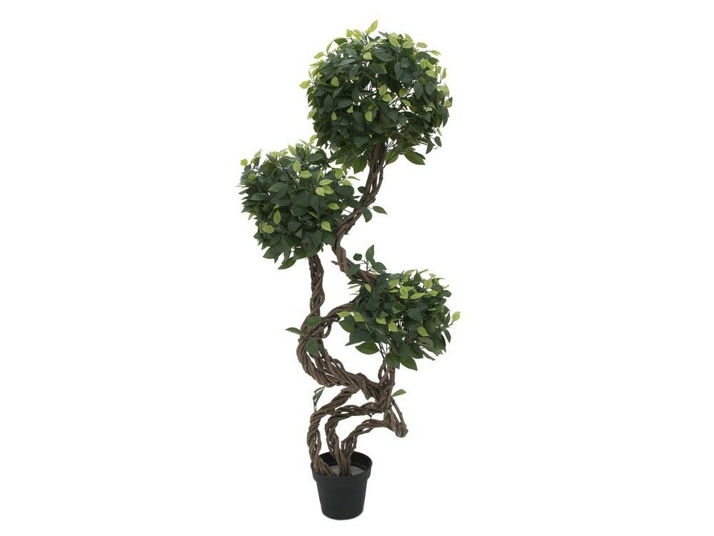 EUROPALMS EUROPALMS EUROPALMS Ficus Multi Spiralstamm 160 cm (Kunstpflanze) 4086ab