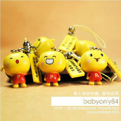 Cute Smile Baby Mobile Cell Phone Charm Strap Dangle