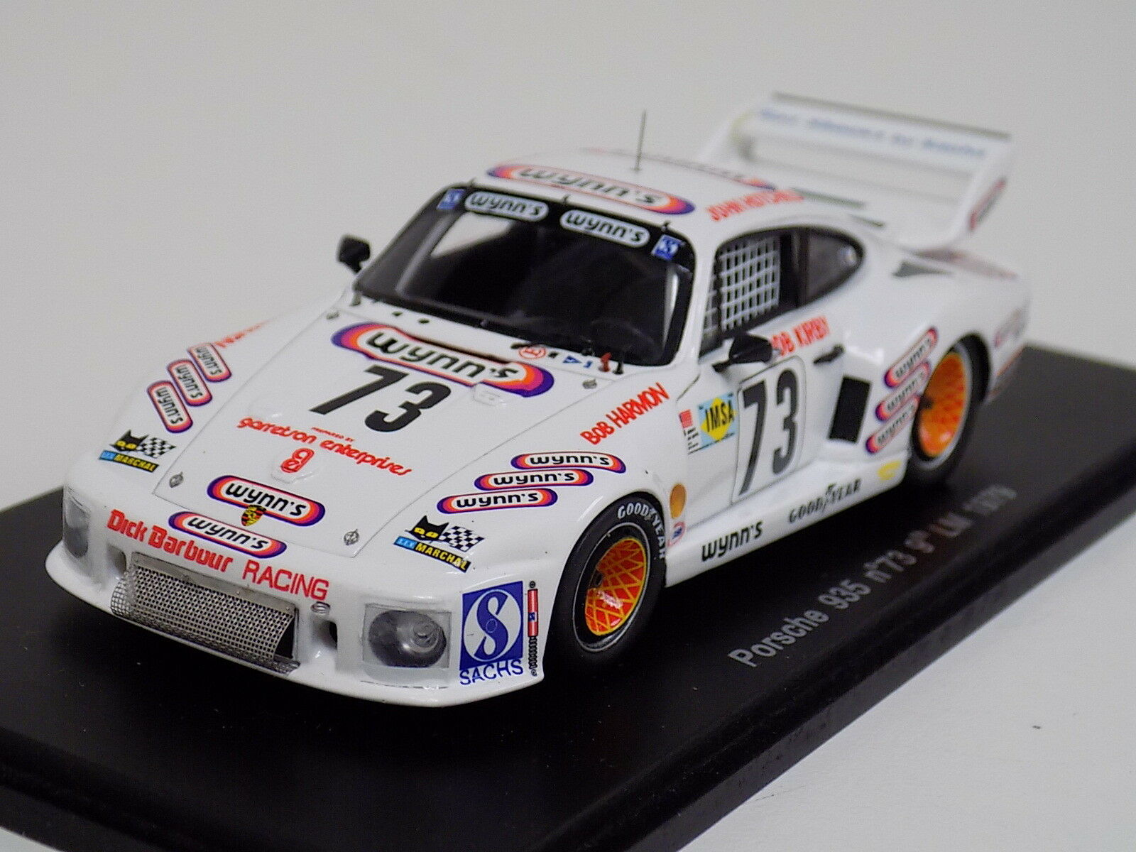 1 43 43 43 Spark Porsche 935  car th in  1971 24 Hours of LeMans  S1979 89252c