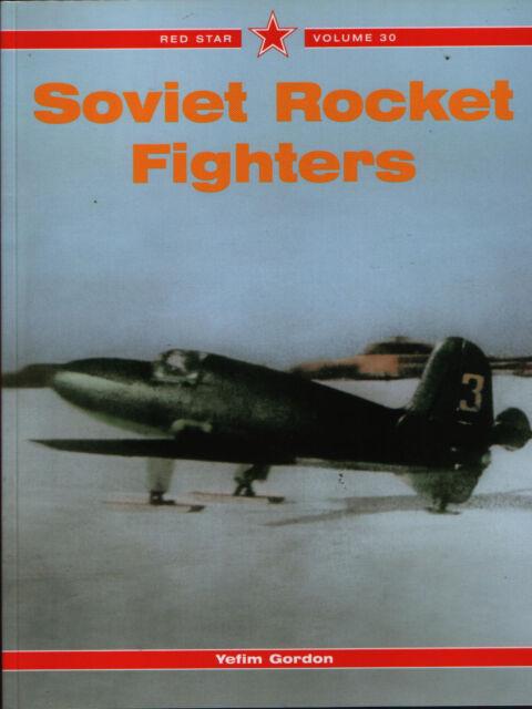 Soviet Rocket Fighters - (Red Star Volume 30) - New Copy