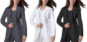 df33843b531 Dickies Lab Coat Scrubs Gen Flex 82408 Youtility Stretchy Spand All ...