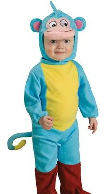 Boots the Monkey Costume Childs Dora the Explorer Romper ,Infant 1,2  Toddler 2,4