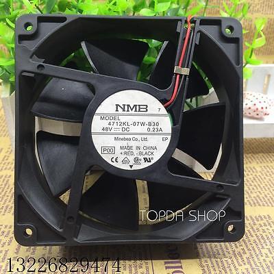 for NMB 4715KL-07W-B30 fan 120*120*38mm 48V 0.21A 12CM 2pin