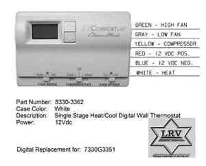 coleman mach 8330 3362 rv ac air conditioner digital. Black Bedroom Furniture Sets. Home Design Ideas