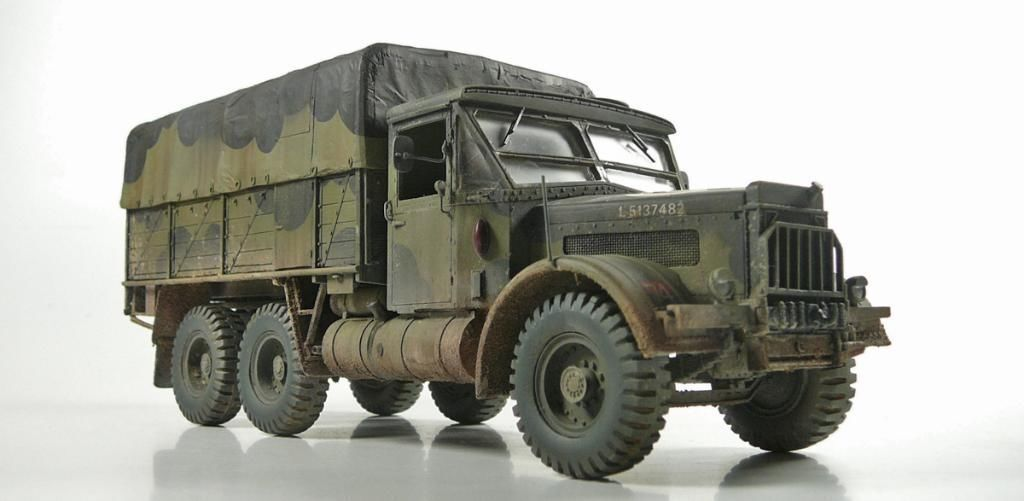 1 35 Albion CX22S 6x4 Heavy Artillery Tractor - High Quality Resin KIT