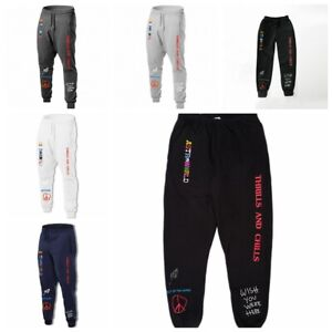 NEW@Travis Scott Astroworld Pants Hip Hop Sweatpant Fashion Casual Trousers////