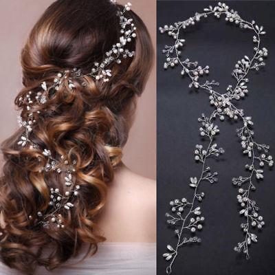 Blossom Copricapo Perle Copricapo Da Sposa Capelli Crystal Accessori Matrimonio di vite