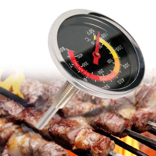 50-400℃ Edelstahl BBQ Smoker Grill Thermometer Küche Temperaturanzeige