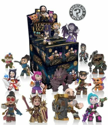 Funko League Of Legends Mystery Minis You Choose Complete Your Set From 2017