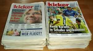 72x-Kicker-2005-Sportmagazin-Sportzeitung-Fussball-Zeitschrift-Sammlung-Heft-alt