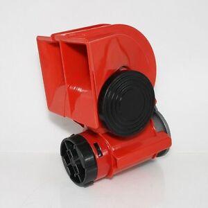 Compresseur Double-Air Comprimé Fanfare Klaxon 12 V avec 2 Métal Cornes Chrome