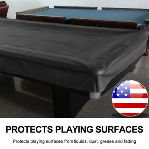 8ft Heavy Duty Fitted Leatherette Billiard Tabletops Pool Table