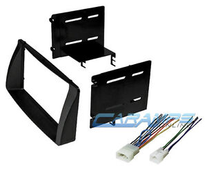 s l300 2003 2008 corolla double 2 din car stereo radio install dash kit w double-din radio install dash kit+wire harness plug at fashall.co