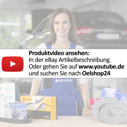 OPEL ASTRA G 4 LOCH ZIMMERMANN BREMSSCHEIBEN SATZ BREMSBELÄGE BELÄGE VORNE