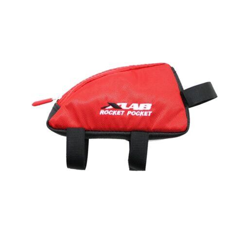 Stem Bag XLAB Rocket Pocket Cycling Top Tube Triathlon Bike Snack Storage