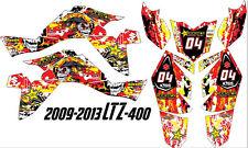Suzuki LTZ 400 ATV Graphic Kit 2009-2012