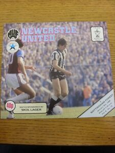 09-01-1985-Newcastle-United-v-Nottingham-Forest-FA-Cup-Replay-Footy-Progs-Bo