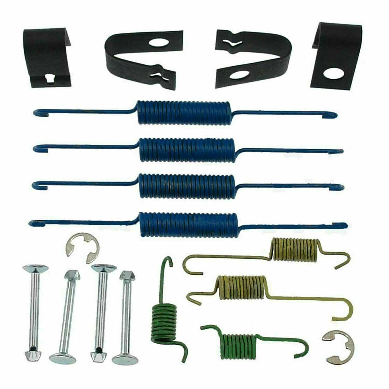 Drum Brake Hardware Kit Rear Carlson 17376 fits 01-05 Kia Rio