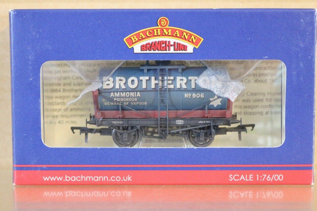 BACHMANN 37-650T WEATHERED BredHERTON TANK WAGON 906 WARLEY LIMITED EDITION ns