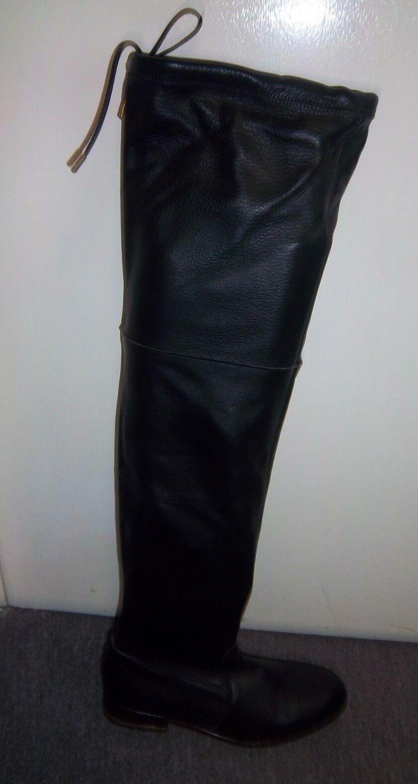Kurt Geiger Ladies Leather Thigh  high Boots UK 7 EU 40 LN089 FF 02