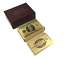 Gold-Plated-Playing-Cards-Poker-Deck-Wooden-Box-amp-99-9-Certificate-24k-Foil thumbnail 18