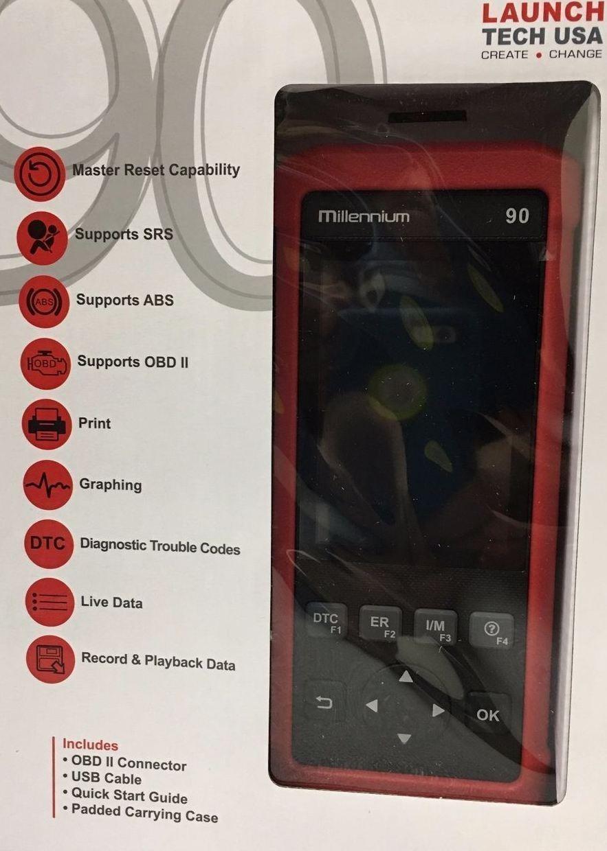 LAUNCH Millennium 90 reader with live ABS & 6 spec function LAU301050345