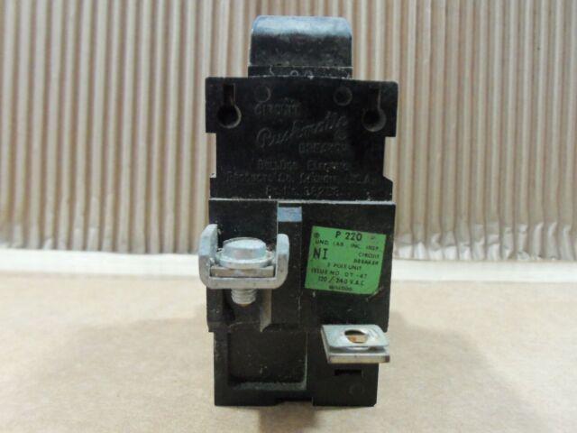 NIB . ZM-32 20A Circuit Breaker 120//240V Cat# P220 .. ITE Pushmatic 2P
