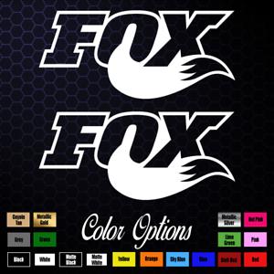 FOX RACING Decal sticker vinyl MOTOCROSS KTM HONDA SUZUKI WINDOW DIRT BIKE 137