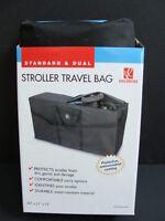 Jl Childress Stroller Travel Bag Standard & Dual Black Carry Case 42 L