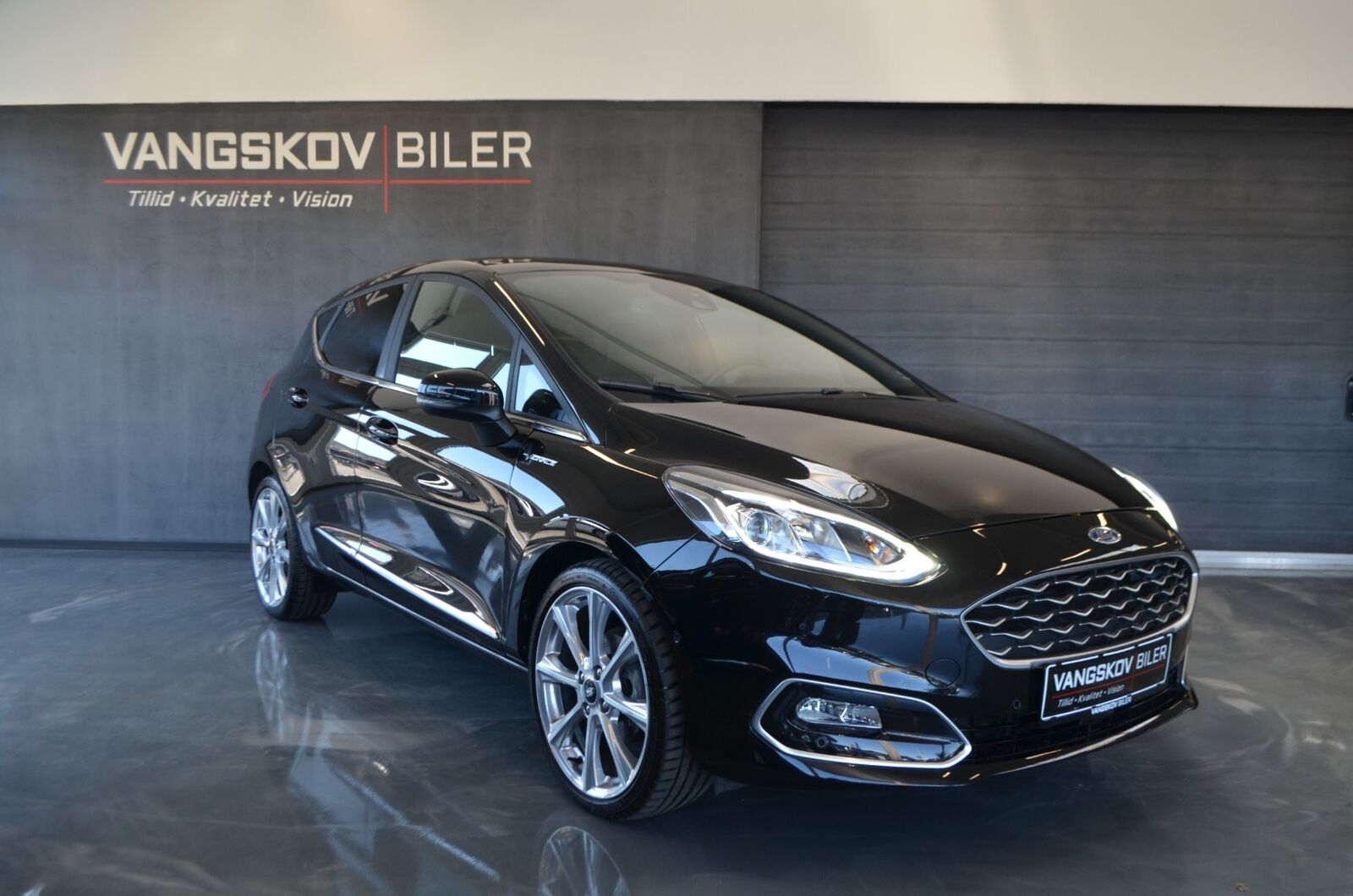Ford Fiesta 1,0 EcoBoost Vignale 5d - 199.895 kr.