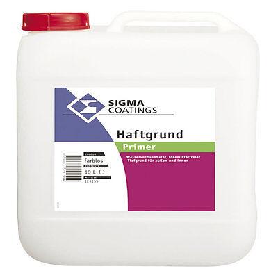 Aggressiv Sigma Haftgrund 2,5 Liter Wasserverdünnbares Baustoffe & Holz Unpigmentiertes Grundierkonzentrat Buy One Give One Heimwerker