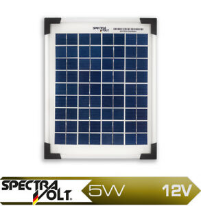 5w watt 12v solarmodul polykristallin solarpanel poly. Black Bedroom Furniture Sets. Home Design Ideas