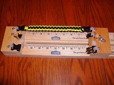 "23"" PARACORD BRACELET MAKING JIG  3 buckles & 2  posts w/shackle fasteners"